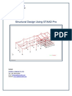 Structural Design Using STAAD Pro