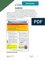 Create Newsletter
