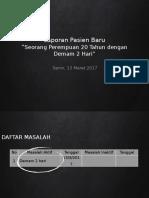 Laporan Jaga - Demam Tifoid - dr. Dona.pptx