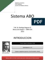 4.- Sistema ABO