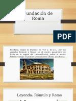 Fundación de Roma