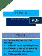 Tesis Clase 6