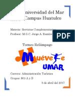 MEMORIA Torneo Relámpago Muévete Umar