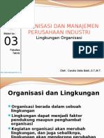 Materi 3 Lingkungan Organisasi