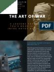 Art of War From Tsun Zu Book's- Resume