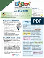 HELP CriticalThinkers