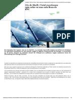 Chile Desarrollo Sustentable » Estalla El Debate_ CEOs de Shell y Total Cuestionan Rentabilidad de Energía Solar en Una Sala Llena de Inversionistas en ERNC