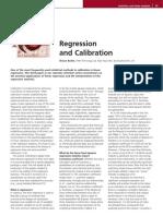 Regresión y Calibración
