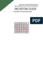 English Pronun Guide