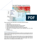 Feature Pada Software Analytical