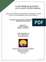 A Study on Web Analytics
