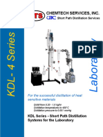 KDL-4 Brochure Wipped Film Distillator