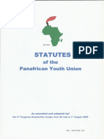 Statutes of the Pan African Youth Union (PYU)