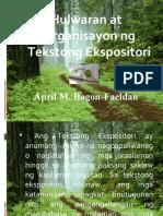 Hulwaran at Orga Ng Tekstong Ekspositori