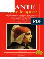 Dante - Tutte Le Opere