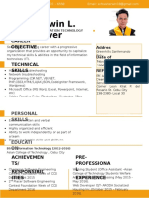 Sherwin Resume