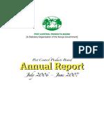 PCPB Annual Report 2006-7