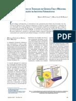 Complexos de Metais de Transição Em Química Fina e Medicinal Aplicações Na Indústria Farmacêutica