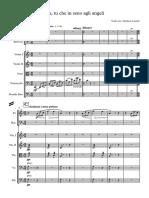 Oh, Tu Che in Seno Agli Angeli - Full Score
