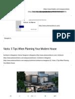 5 Vastu Shastra Tips for Modern Houses