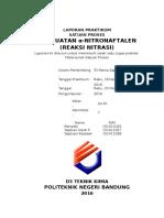 laporan nitrasi