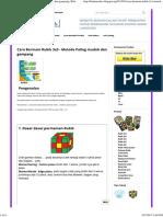 Cara Bermain Rubik 3x3 - Metode Paling Mudah Dan Gampang _ BalamCubes _ Jual Rubik Speed Cube 3x3 , 4x4 , 5x5 _ Tempat Beli Rubik Lengkap _ Toko Online Rubik