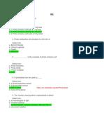 Instrumentation Quiz - Module 6 & 7 Final Answers