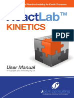 ReactLab Kinetics Manual