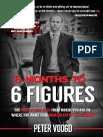 6 Months to 6 Figures Peter Voogd
