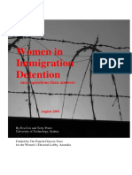 Life for Women in Immigration Detention