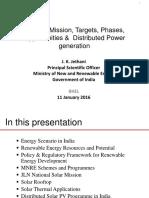 Solar Power Business Scenario in India