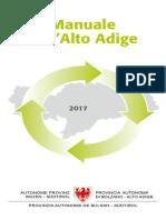 Il Manuale dell'Alto Adige 2017