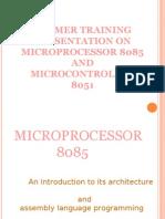 8085 and 8051 presentation