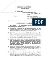 Application for Bail Pp vs Lubiano