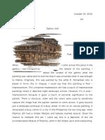Art App Paintings Analysis