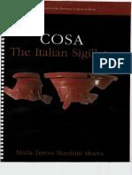 Cosa, The Itallian Sigillata