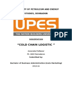Cold Chain Logistic