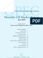 June 2010 Oil Report by Opec