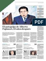 El Autogolpe de Alberto Fujimori, 25 Años Después