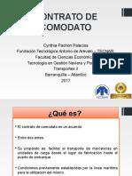 Contrato de Comodato