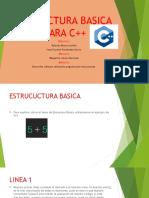 ESTRUCTURA BASICA PARA C++