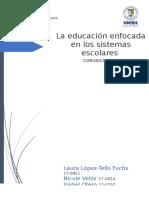 Monografía educación final