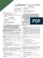 Ley que modifica el artículo 9 del Decreto Legislativo 1319 Decreto Legislativo que establece medidas para promover el comercio de productos forestales y de fauna silvestre de origen legal