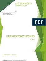 instrucciones basicas c++