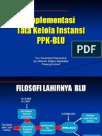 Implementasi Tata Kelola BLU