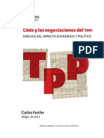 Chile y Las Negociaciones Del TPP