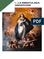 Tema 42 y 43 - Inmaculada Concepcion y Maria Madre de Dios