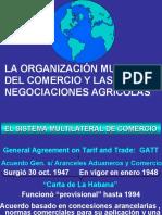 2 El Sistema Multilateral de Comercio