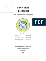 Chapter 12 Leadership