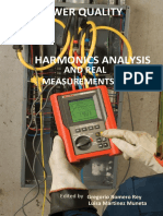 Power Quality Harmonic Analysis and Real Measurement Data